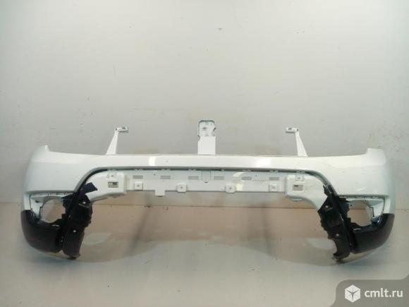 Бампер передний RENAULT DUSTER 15- б/у 620224960R 3*. Фото 1.