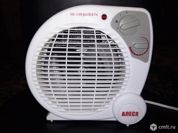 "Электрический тепловентилятор ""Алеся"". Фото 1."