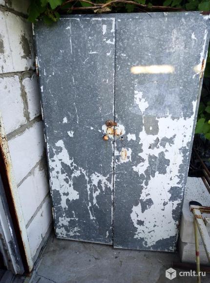 Шкаф из оцинковки. Фото 1.