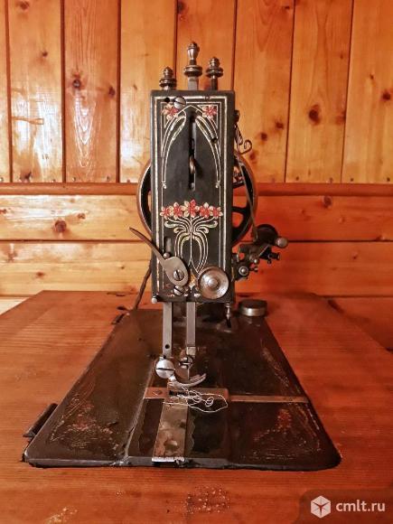 Швейная машинка антикварная Gritzner.. Фото 6.