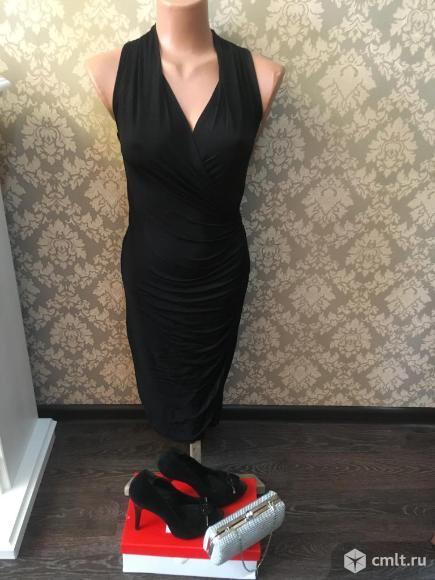Продаю красивое черное платье. Фото 1.