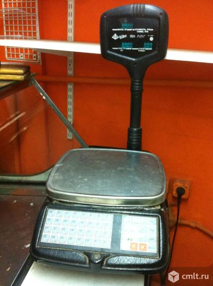 Весы электронные торговые. Фото 5.