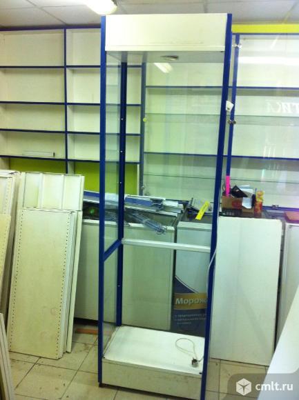 Торговое оборудование стеллажи витрина. Фото 1.