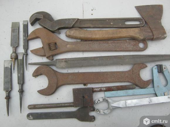 Слесарный инструмент. Фото 1.