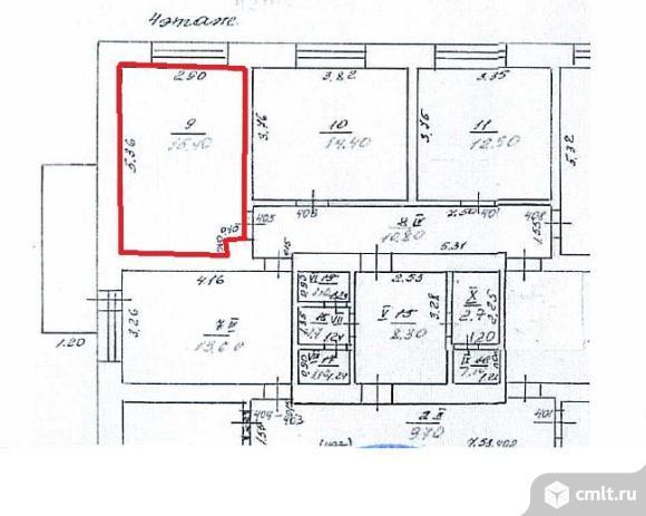 Продается комната 15.4 м2 в 2 ком.кв.. Фото 6.