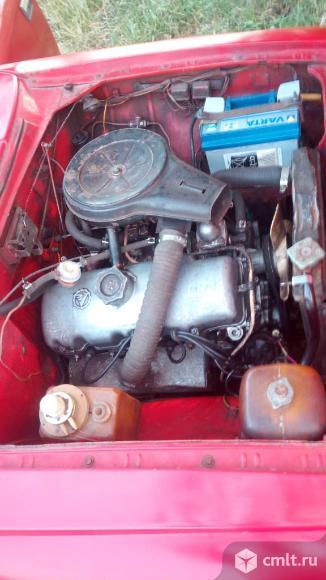 М-412 1985 г. в., 1.5, 85 тыс. км, красный, фаркоп. Фото 3.