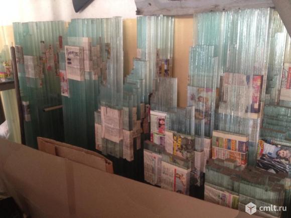 Полоски стекла. Фото 1.