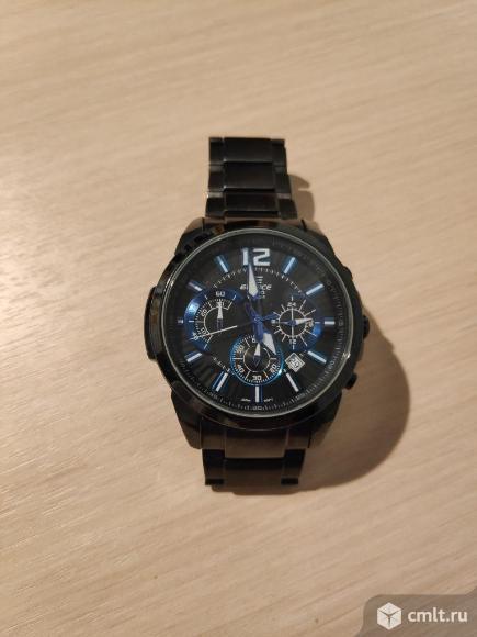 Часы Casio Edifice EFR-535BK-1A2V. Фото 1.