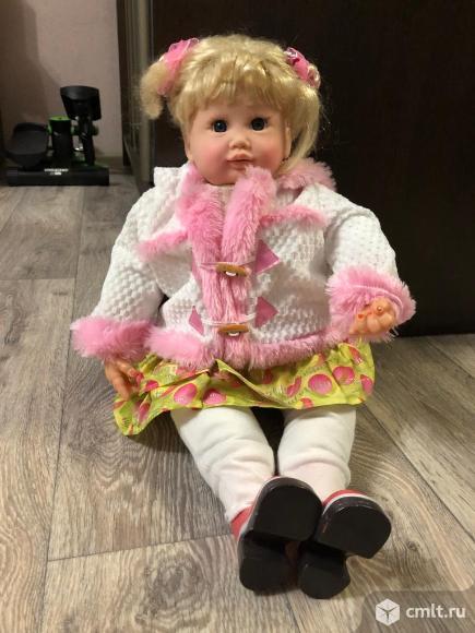 Интерактивная кукла Ксюша. Фото 1.