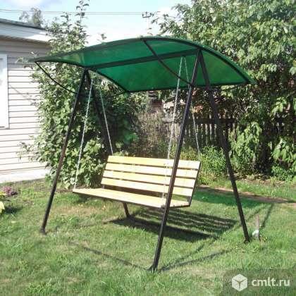Реализуем садовые качели. Фото 3.
