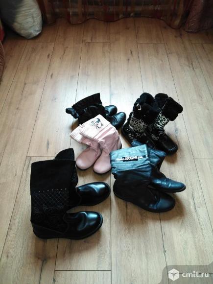 Детская обувь (сапоги ). Фото 1.