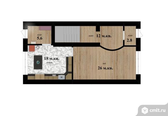 5-комнатная квартира 255 кв.м. Фото 1.