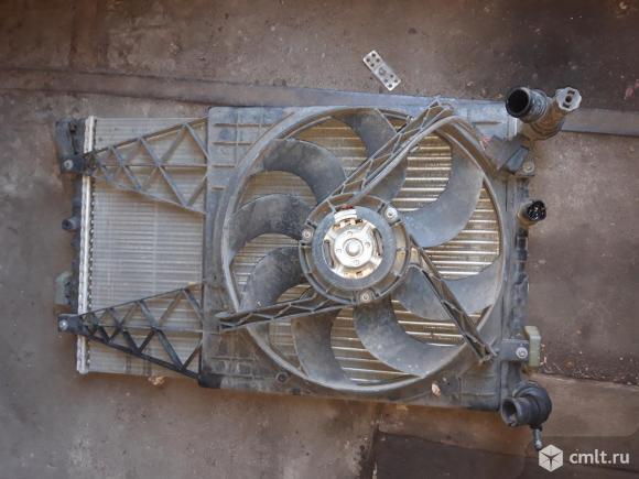 Вентилятор Skoda Roomster. Фото 1.