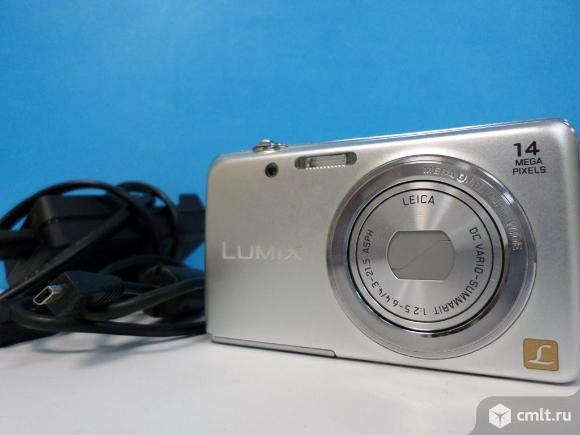 Фотоаппарат цифровой Фотоаппарат Panasonic Lumix DMC-FS40. Фото 1.