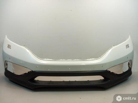 Бампер передний  верх + низ HONDA CR-V 12-15 б/у 71101T0AU00ZZ 71102T1GG00 4.5*. Фото 1.