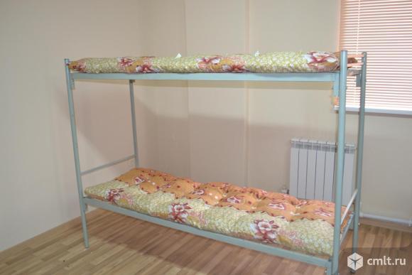 Металлические армейские кровати. Фото 1.