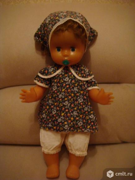 Кукла-пупс СССР с соской (60 см ). Фото 1.