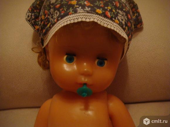 Кукла-пупс СССР с соской (60 см ). Фото 13.