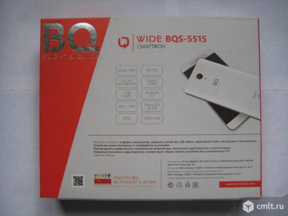 BQ 5515 4G. Фото 4.