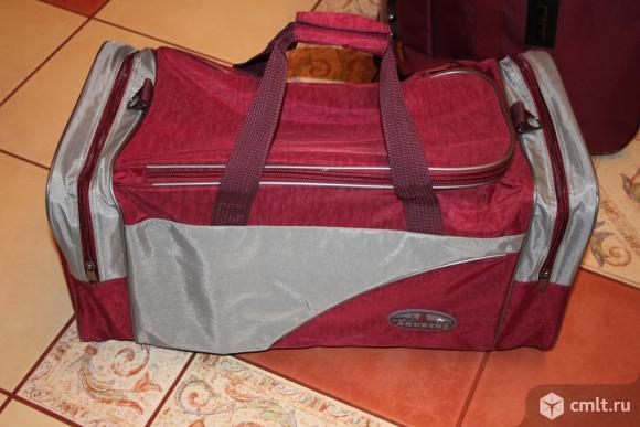 Новая дорожная сумка. Фото 1.
