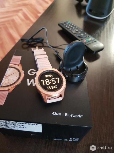 """Продам новые смарт-часы """"Samsung galaxy watch"""". Фото 7."""