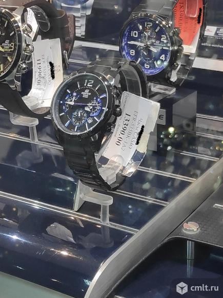 Часы Casio Edifice EFR-535BK-1A2V. Фото 6.
