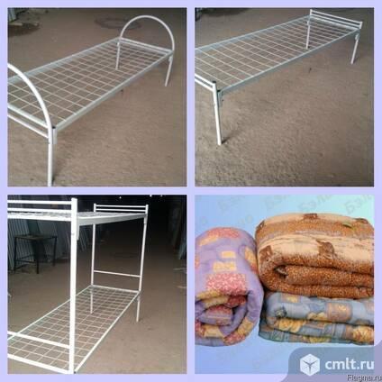 Продаются кровати металлические армейского типа. Фото 1.