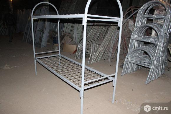 Предлагаем кровати металлические собственного производства. Фото 5.