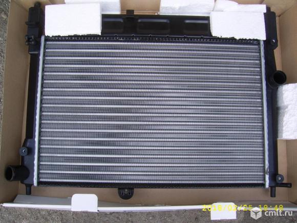 Радиатор охлаждения chevrolet lanos (luzar)№LRc 0563. Фото 1.