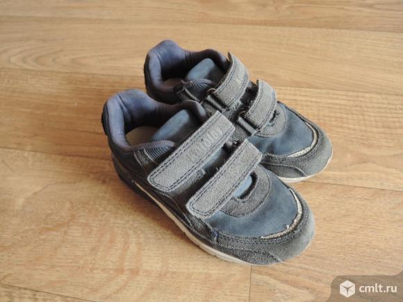 Замшевые кроссовки Kotofey. Фото 1.