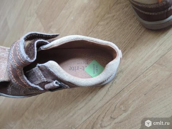 Новые кожаные ботиночки Start Rite пр-во Англия. Фото 7.