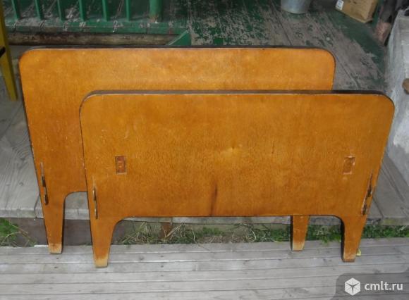 Изголовья деревянные, спинки для кровати. Фото 1.