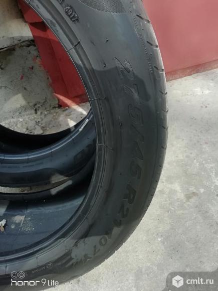 Шины pirelli 275/45 r21. Фото 7.