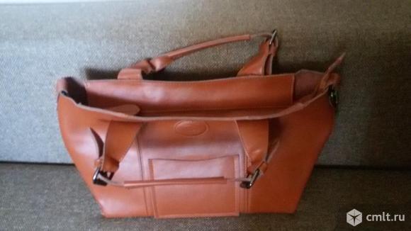 Натуральная кожа сумка. Фото 2.