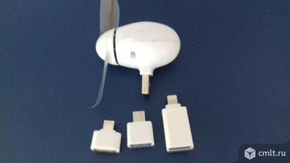 Мини-вентилятор новый. Фото 1.
