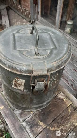 Ящик для хранения и переноски киноплёнки (яуф). Фото 1.