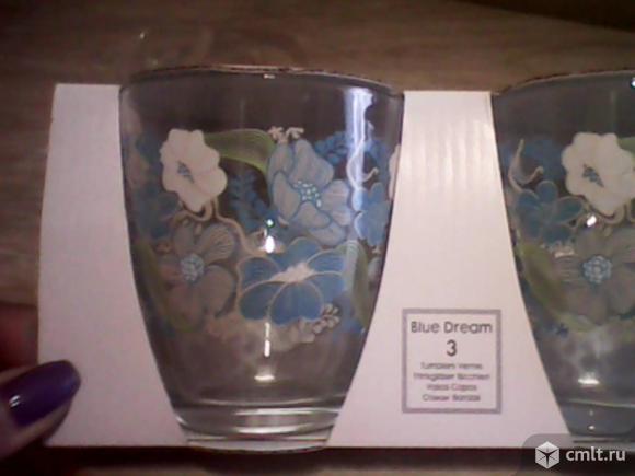 Турецкий набор стаканов-3 шт.. Фото 1.