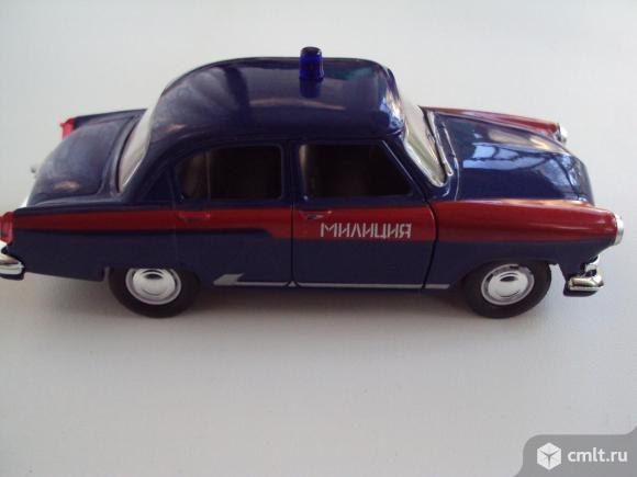 Автомобиль Газ-21 Волга Милиция СССР. Фото 7.