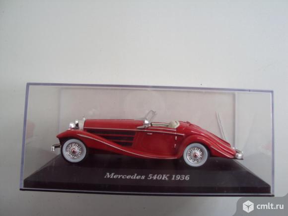 Автомобиль Mercedes Benz 540K 1936. Фото 1.