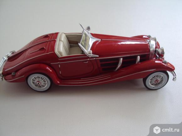 Автомобиль Mercedes Benz 540K 1936. Фото 8.