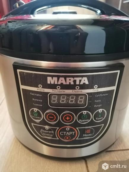 Как новая, гарантия мультиварка Marta-4324. Фото 1.