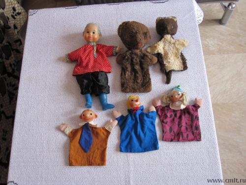 Артисты кукольного театра