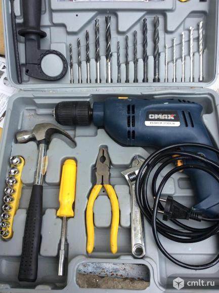 Набор с инструментами. Фото 1.