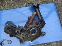 Насос масляный и трубка всасывания 55195304 Fiat Albea