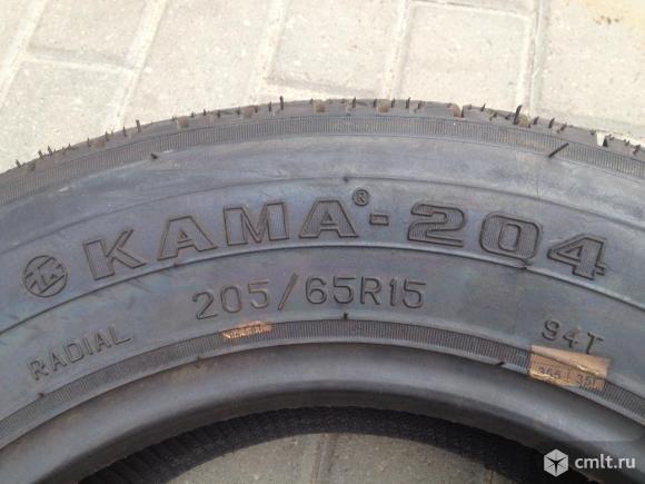 Шина новая Кама-204 205/65R15. Фото 2.