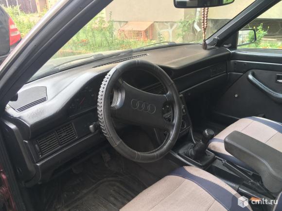 Audi-100 1989 г. в., 1.8, карбюратор, 250000 км, красный. Фото 6.