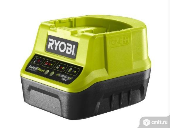 Зарядное устройство компактное Ryobi RC18120 ONE+. Фото 1.