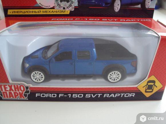 Автомобиль FORD F-150 RAPTOR Технопарк. Фото 1.
