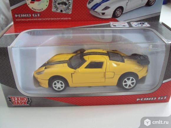 Автомобиль FORD GT Технопарк. Фото 1.