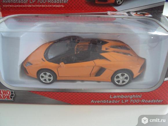 Автомобиль Lamborghini LP 700 Технопарк. Фото 1.